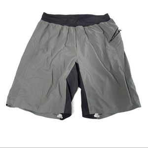 Men's Lululemon gray shorts size small